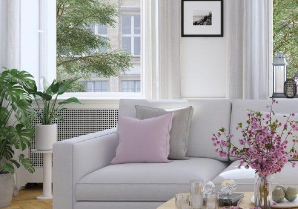 תכנון ועיצוב הסלון